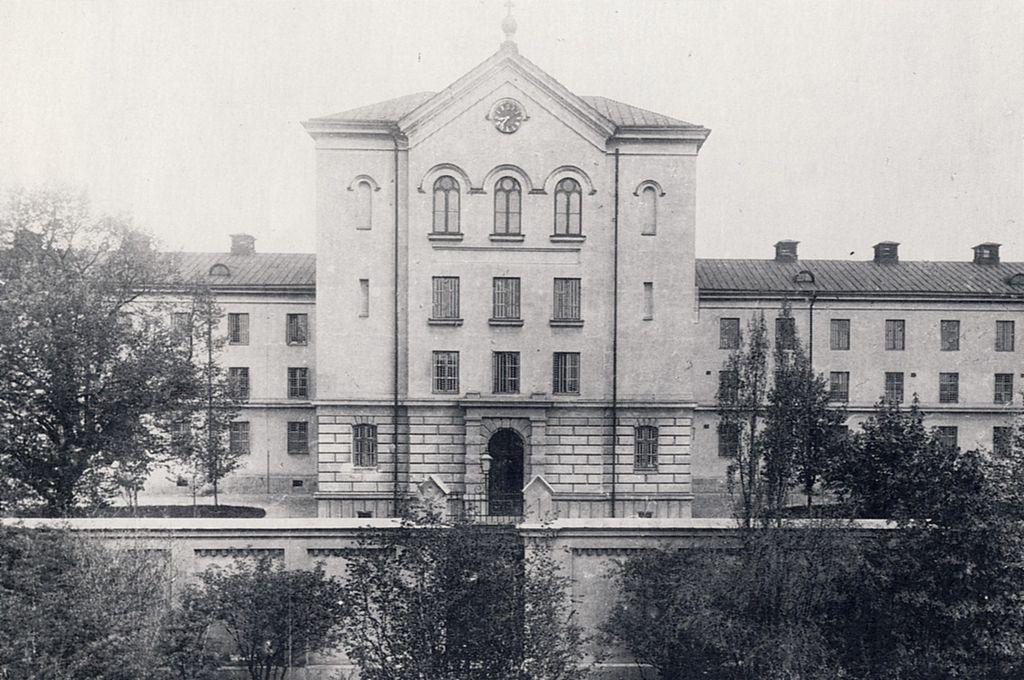 Långholmens centralfängelse 1896