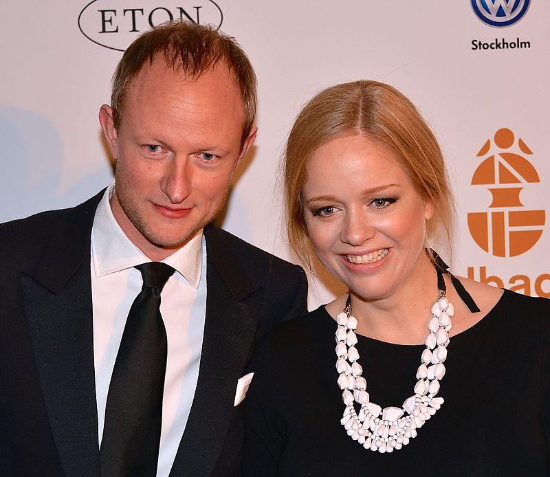 Ebba von Sydow med maken Johan Kleberg