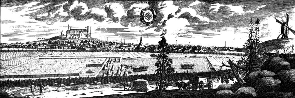 Enköping omkring år 1700