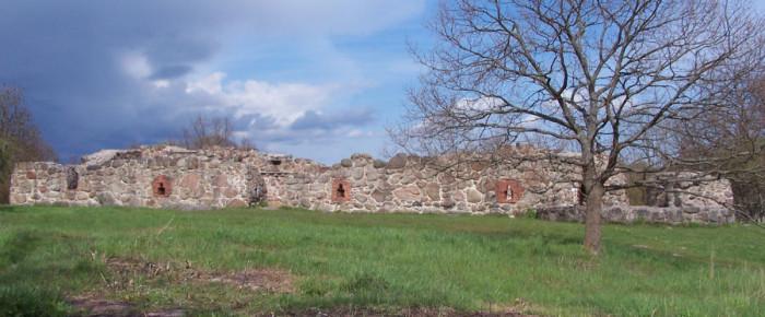 Den medeltida staden Lyckå