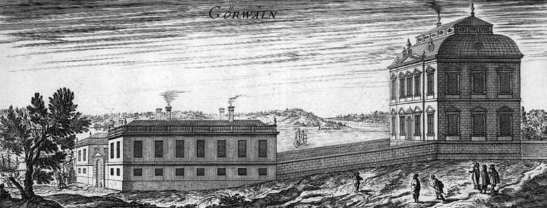 Görvälns slott på 1670-talet