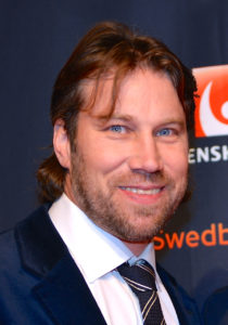 Peter Forsberg and Nicole Nordin in January 2014 - version 3
