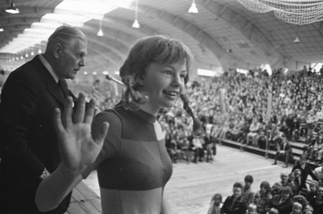 Inger Nilsson i Amsterdam 1972