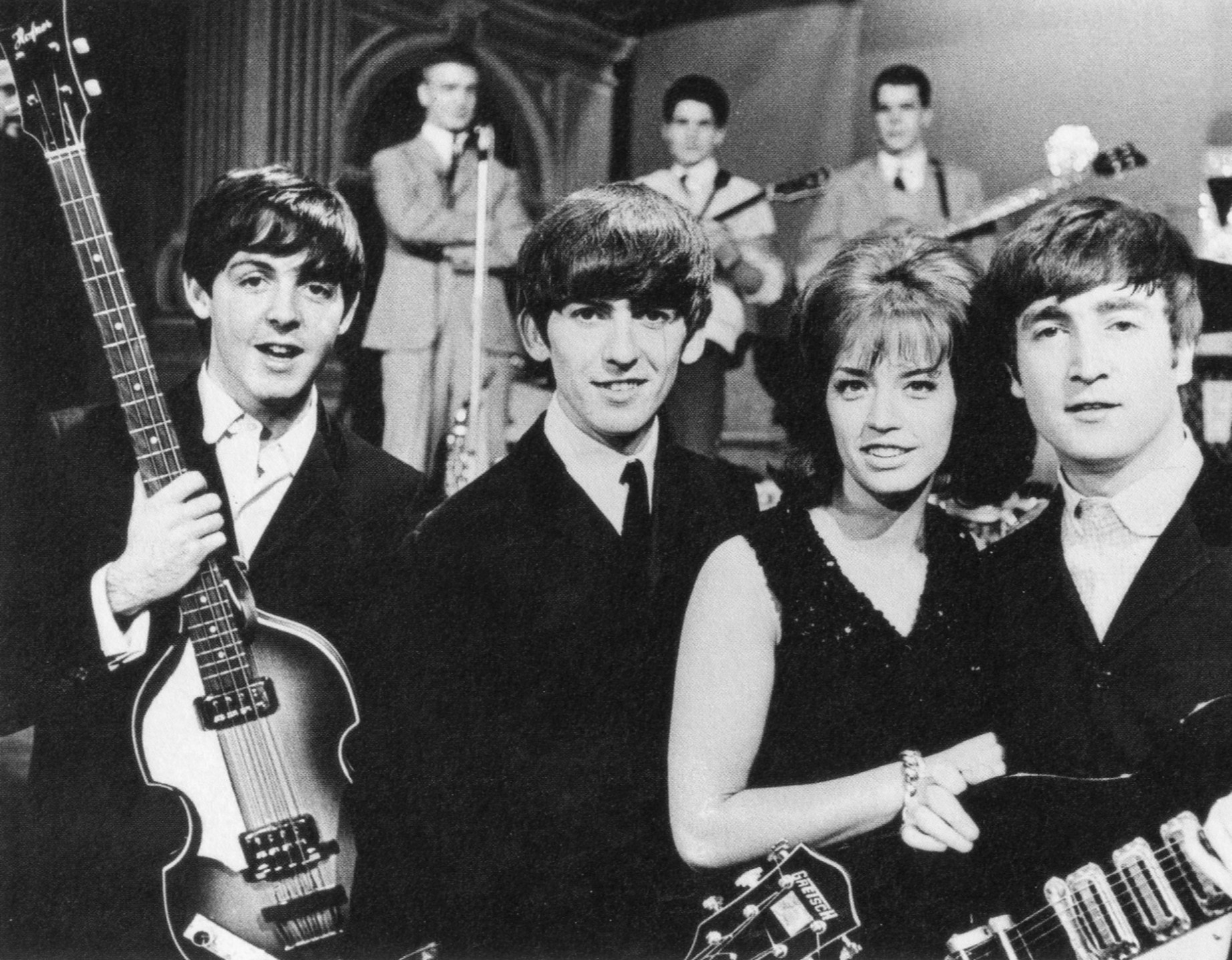 Lill-Babs med The Beatles 1963