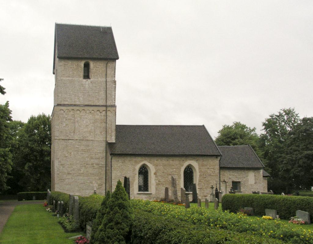 Herrestads kyrka i Östergötland