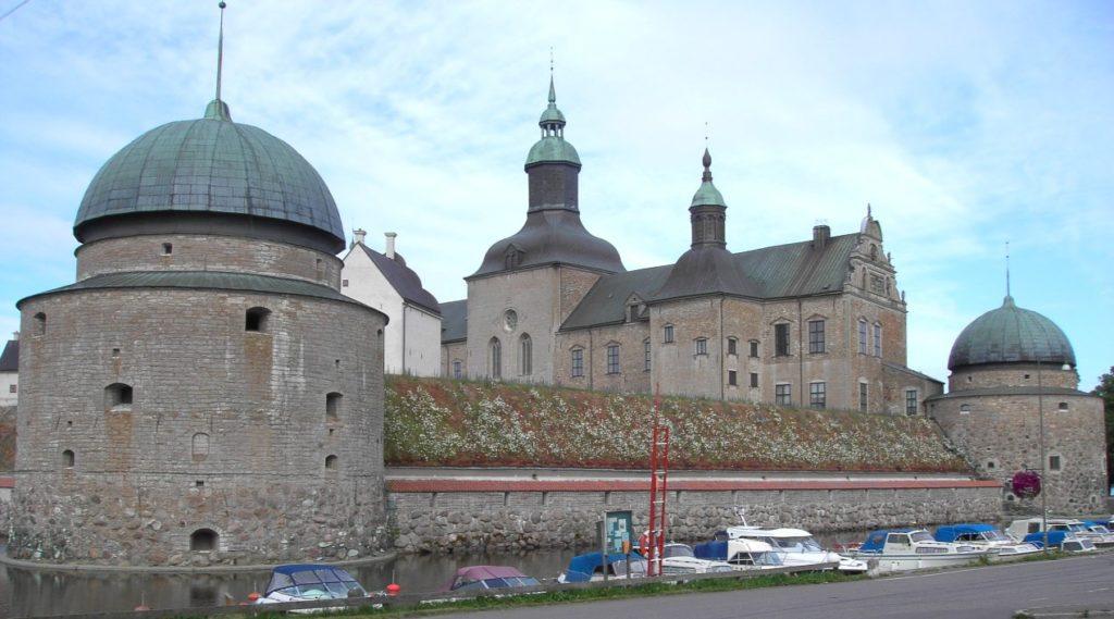 På Vadstena slott finns Sveriges äldsta landsarkiv