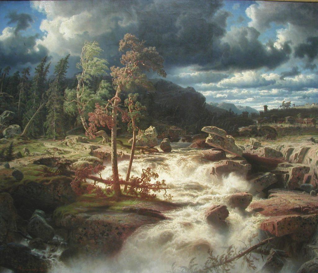 Vattenfall i Småland