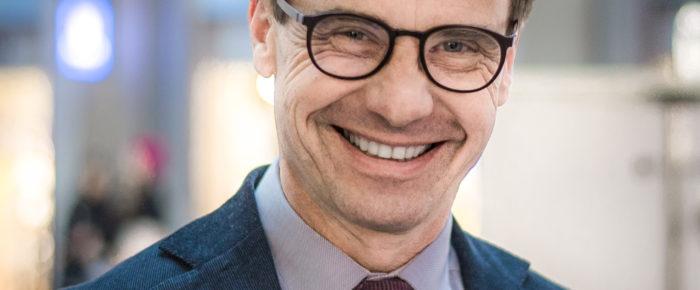 Moderatledaren Ulf Kristerssons förfäder