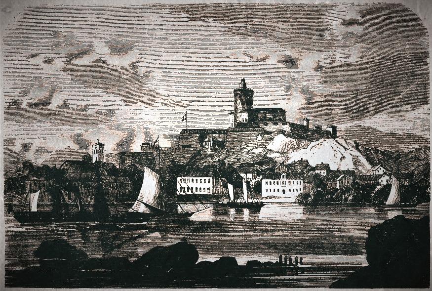 Marstrand med fästningen