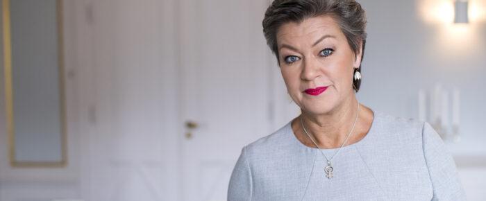 Sveriges statsråd: Ylva Johansson
