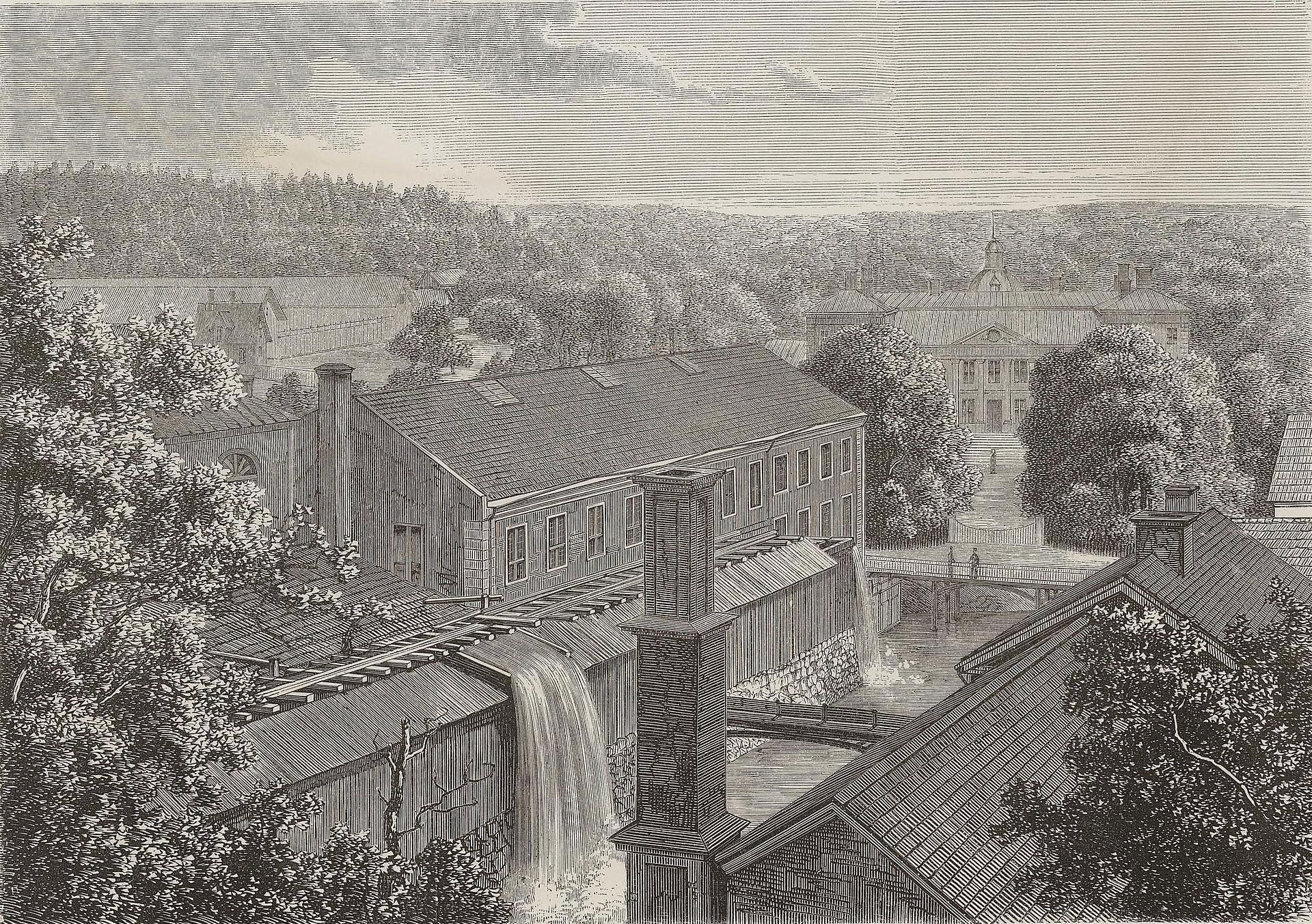 Finspångs bruk på 1800-talet