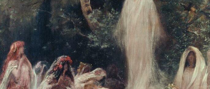 Spöken och vålnader i de värmländska skogarna