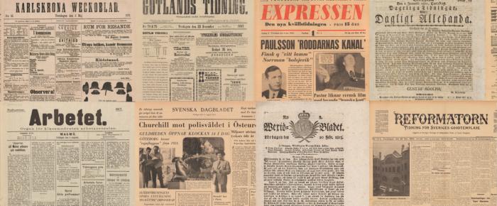 Fler historiska tidningsartiklar gratis för alla nästa år