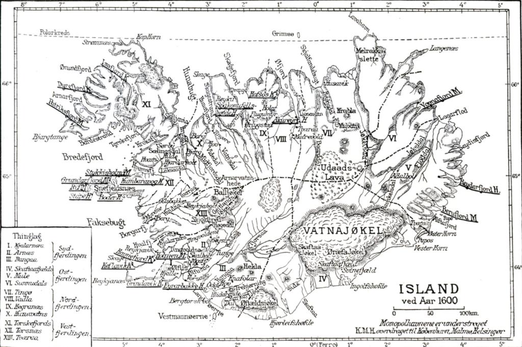 Island år 1600