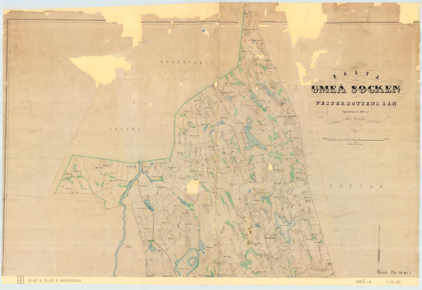 Umeå socken år 1867