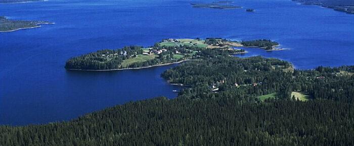 Fem drunknade på Flåsjön i Jämtland