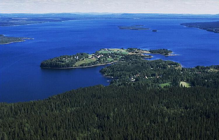 Alanäs och Flåsjön