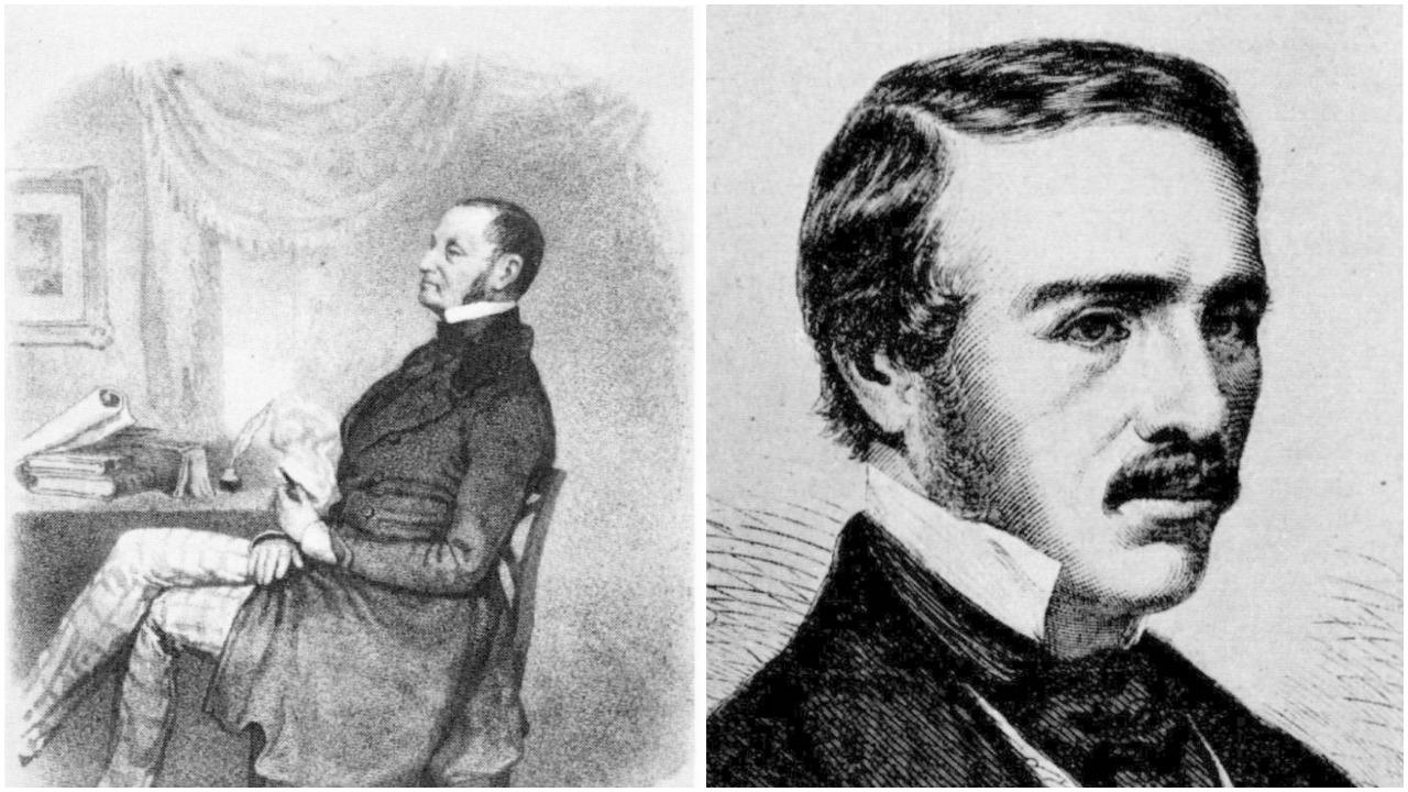 Llewellyn Lloyd och sonen Charles Anderson