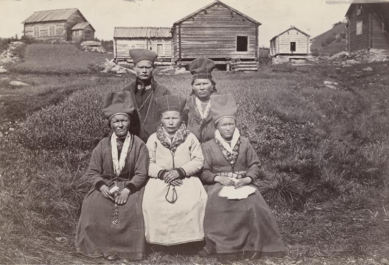 Samer i Ammarnäs, Sorsele år 1871