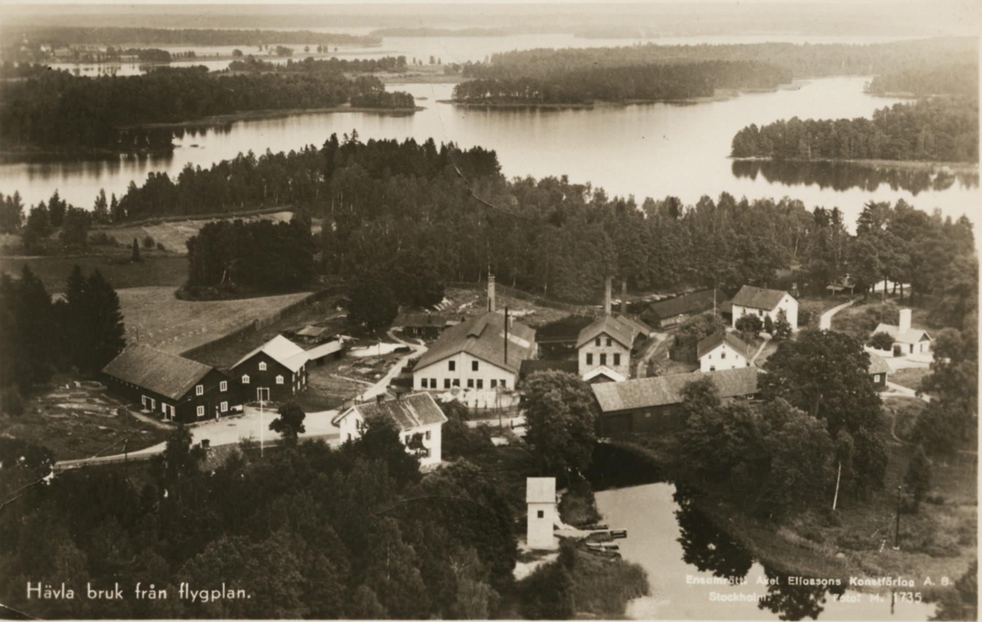 Hävla bruk i norra Östergötland