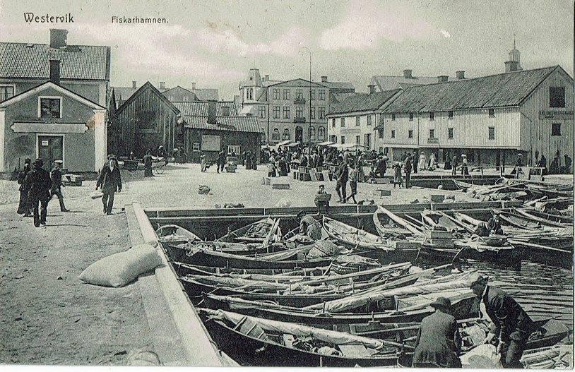 Västervik vid 1900-talets början