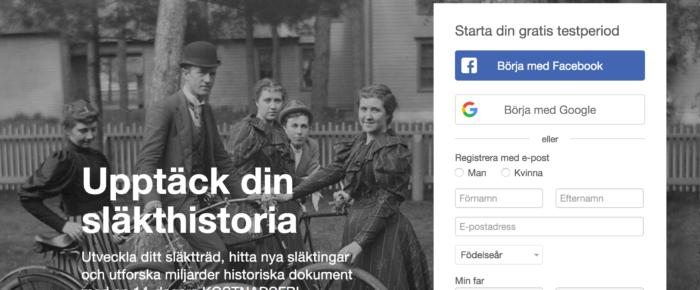 MyHeritage anmäls till Datainspektionen