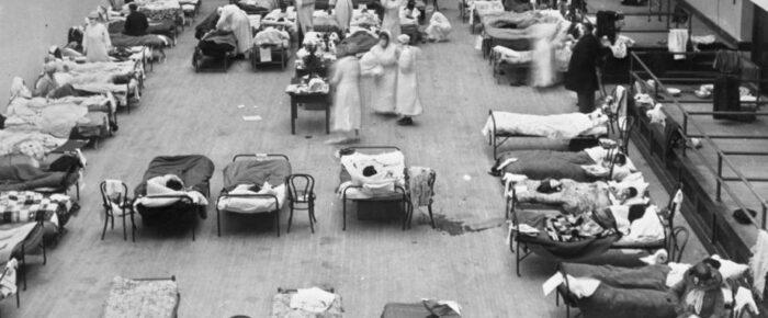Spanska sjukan och COVID-19 – statistik och vaccin